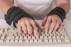 Carpal Tunnel Royalty Free Stock Photo