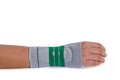 Carpal Tunnel Syndrome Brace. Stock Images