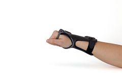 Carpal Tunnel Syndrome Brace. Royalty Free Stock Images