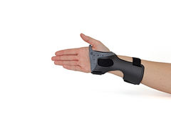 Carpal Tunnel Syndrome Brace. Stock Image