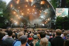 carpark ο Βορράς φεστιβάλ Στοκ φωτογραφία με δικαίωμα ελεύθερης χρήσης