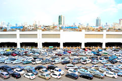 Carpark Stockfoto