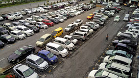Carpark foto de stock