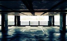 Carpark Fotografia Stock