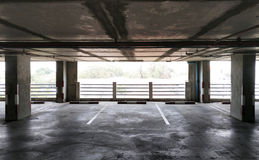 Carpark Immagine Stock Libera da Diritti