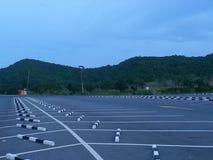 Carpark. Car traffic chonburi Royalty Free Stock Photos