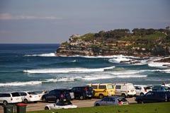 Carpark da praia de Bondi Fotos de Stock