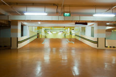 Carpark Interior Royalty Free Stock Photos