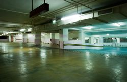 Carpark Interior royalty free stock photography