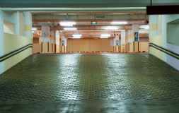 Carpark Interior Stock Images