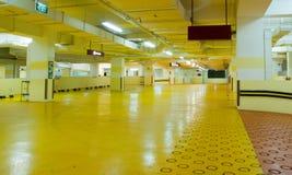Carpark Interior Royalty Free Stock Photography
