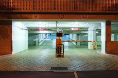 Carpark Interior Royalty Free Stock Image