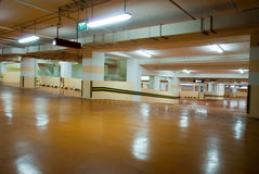 Carpark Interior Royalty Free Stock Photo