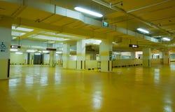 Carpark Interior Stock Photography
