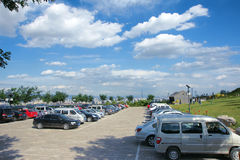 Carpark scenery Royalty Free Stock Image