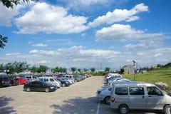 Carpark scenery royalty free stock image