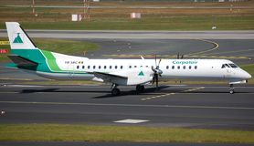 Carpatair Saab 2000 Immagine Stock