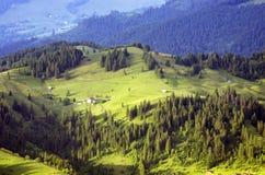 Carpathiam góry Zdjęcia Royalty Free