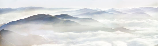 Carpathian beautiful morning Royalty Free Stock Photography