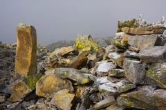 carpathian berg för höst Royaltyfria Bilder