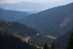 Carpathian berg, Rumänien Royaltyfria Foton