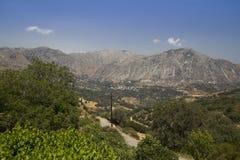 carpathian bergukraine dal Arkivbild