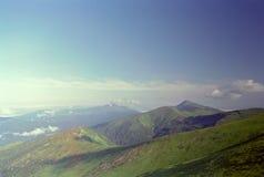 carpathian góry Zdjęcie Royalty Free
