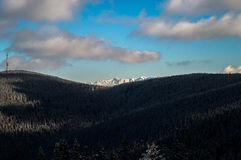 carpathian góry Obrazy Royalty Free