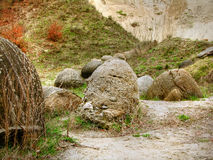 carpathian geologistenar Arkivbild