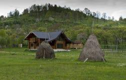Carpathian haystack Romania Royalty Free Stock Photo