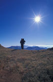 Carpathian hiker Royalty Free Stock Photos