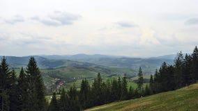 Carpathian landscape. Beautiful Carpathian landscape. Mount Gemba Stock Images