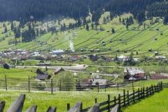 Carpathian landscape Romania Royalty Free Stock Photos