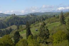 Carpathian landscape Romania Stock Photo