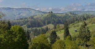 Carpathian landscape Romania Stock Images
