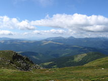Carpathian landscape. In summer sunny day, Ukraine royalty free stock photos