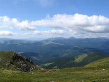 Carpathian landscape. In summer sunny day, Ukraine Royalty Free Stock Photos