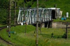 Carpathian landskap Arkivfoto