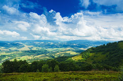 Carpathian mountain landscape Stock Image