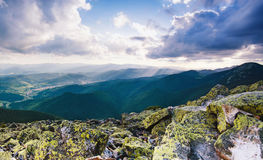 Carpathian mountain landscape Royalty Free Stock Photography