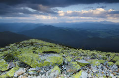 Carpathian mountain landscape Royalty Free Stock Image
