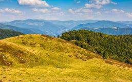 Carpathian Mountain Range in late summer Stock Photography