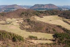 Carpathian mountain range in Slovakia Stock Image