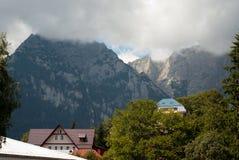 Carpathian mountain resort Stock Photography