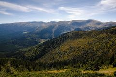 Carpathian Mountains. Beautiful views of the Carpathian Mountains royalty free stock photo