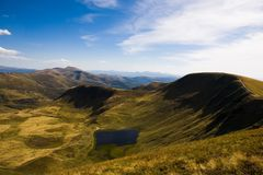 Carpathian Mountains. Beautiful views of the Carpathian Mountains Stock Images