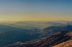 Carpathian Mountains Stock Images