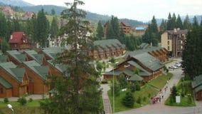 Carpathian Mountains. Beautiful mountains in Western Ukraine, Bukovel Royalty Free Stock Image