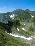 Carpathian Mountains, Fagaras ridge top of Romania royalty free stock image
