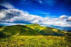 Carpathian mountains Royalty Free Stock Photography